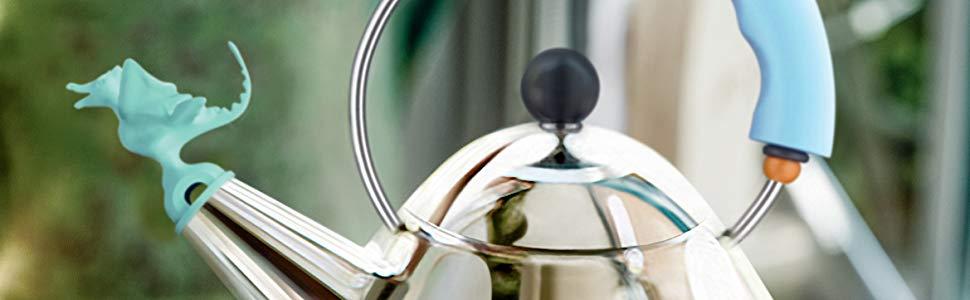 Alessi |9093REX B Tea Rex Design Kettle