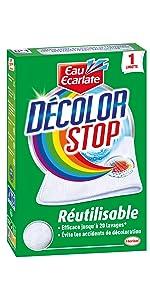 anti transfert couleur decoloration lingette lessive linge