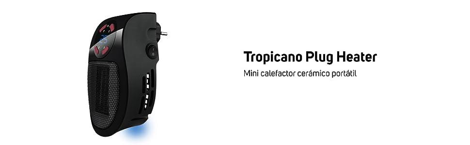 minicalefactor cerámico portátil