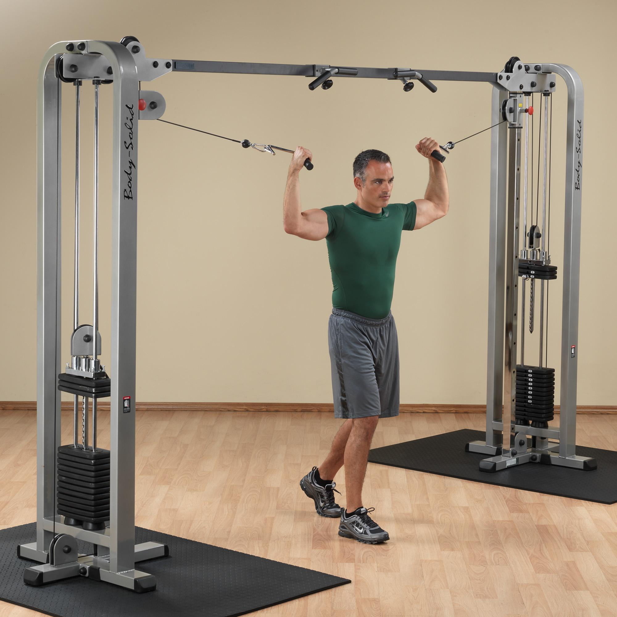 Gymnastics Equipment In Canada: Body Solid Pro Clubline Cable Crossover, Home Gyms