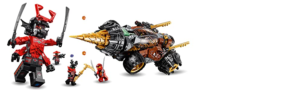 Amazon.com: LEGO Ninjago Legacy Coles Earth Driller 70669 ...
