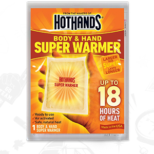 Lot of 4 Hot Hands Super Warmers Long Lasting Safe Natural 18 Hour New Exp 4//22