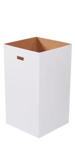 Plain 50 Gallon Corrugated Trash Can