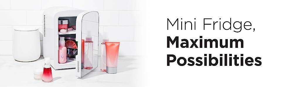 Skincare mini fridge cool small portable office can car bedroom desk skin care electric beauty dorm