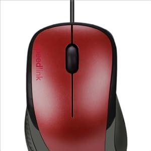 Speedlink Kappa Mouse 3 Tasten Maus Mit Usb Anschluss Computer Zubehör