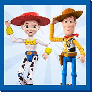 C Disney Pixar Toy Story Caoutchouc 3D Puzzle Palz Gomme Figure Jessie Cowgirl