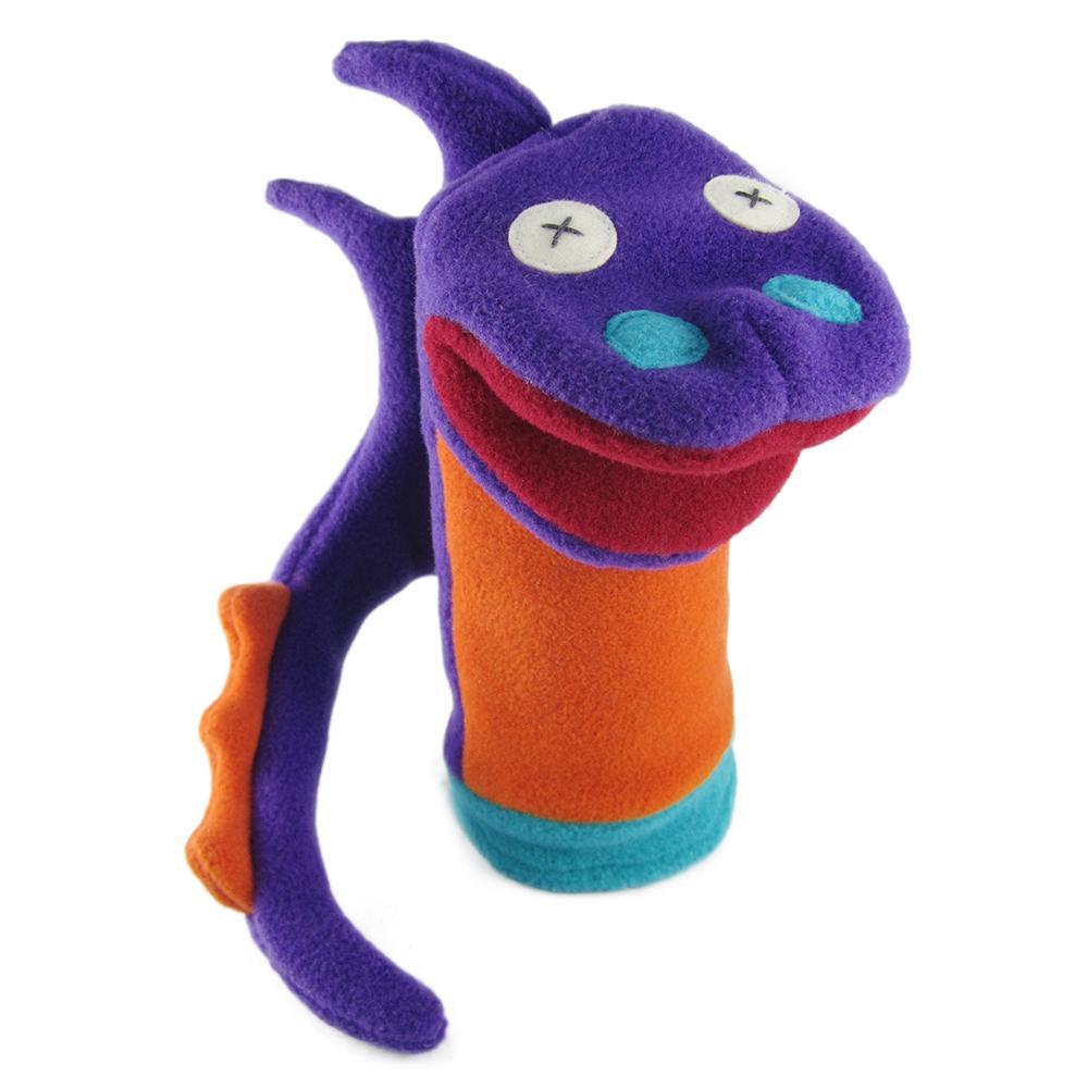 Amazon.com: Cate & Levi - Fleece Hand Puppet - Handmade in