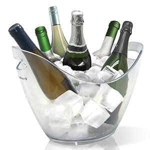 Vin Bouquet Cubitera Transparente para 6 Botellas