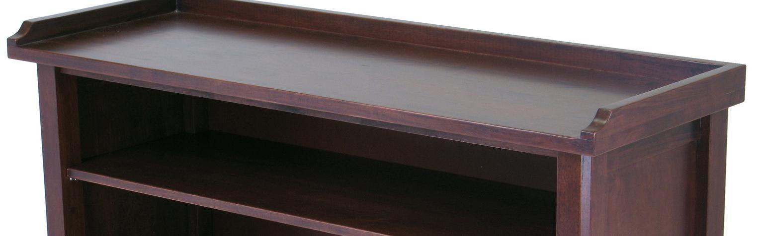 Amazon Com Winsome Wood 94640 Milan Bench Antique Walnut