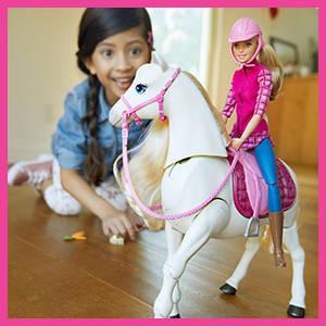Mattel Barbie FTF02 - Traumpferd und Puppe