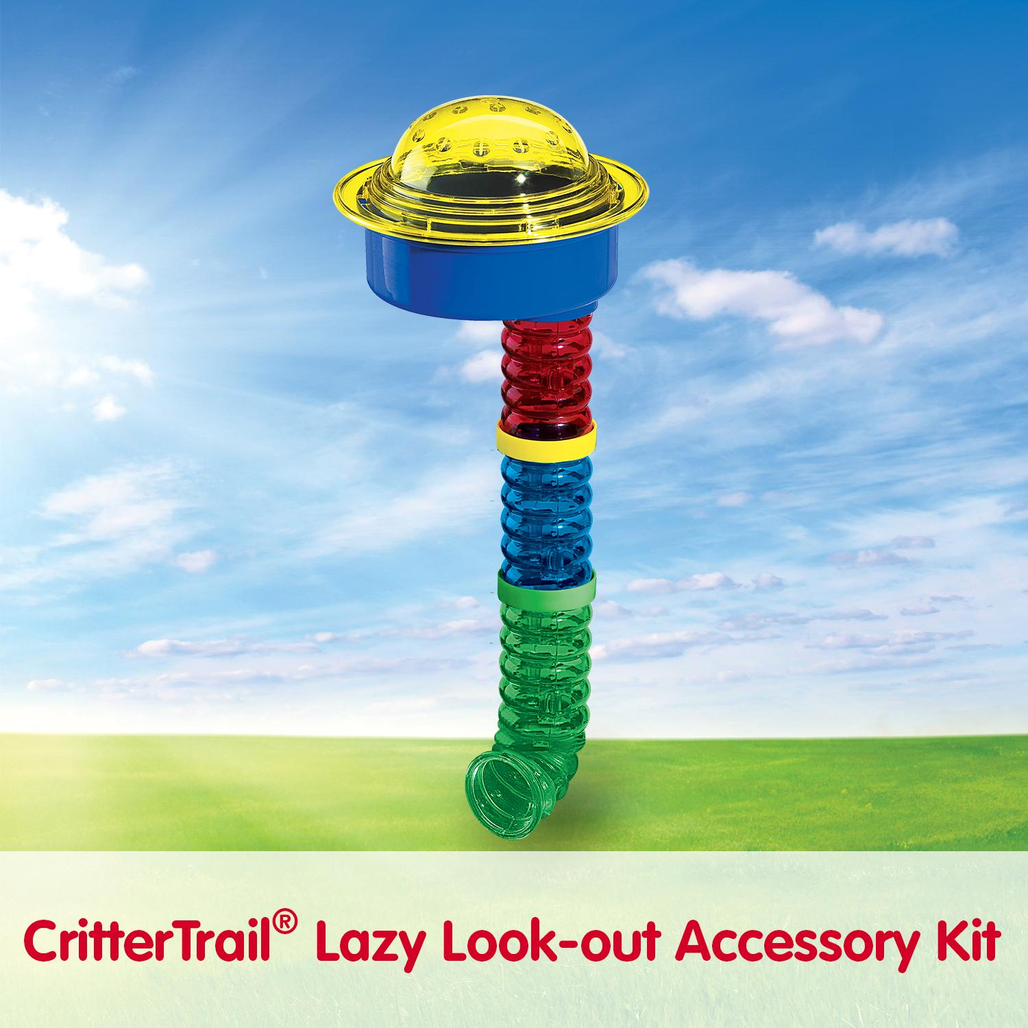 Kaytee Crittertrail Lazy Lookout J-Tube Connector Ring Pet Accessory Kit