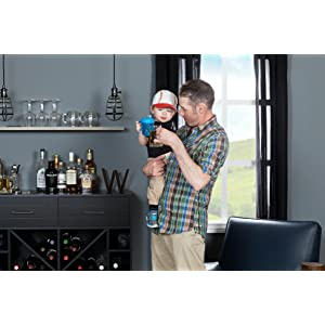 Amazon.com: South Shore Vietti Bar Cabinet with Bottle Storage and ...