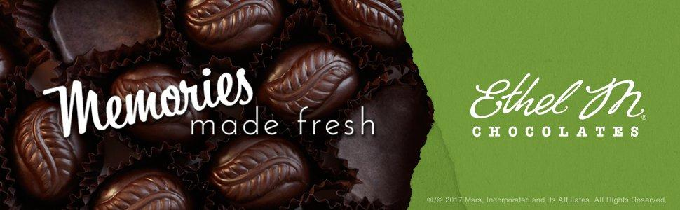 Enjoy ETHEL M Chocolate Truffles filled with crème and made with natural ingredients.