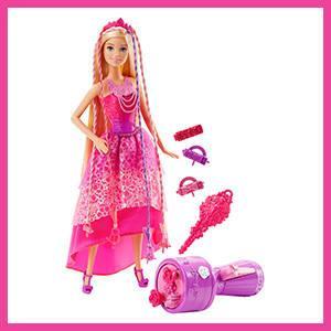 Amazon.es: Barbie Muñeca Reino de los peinados, juguete +3 años ...