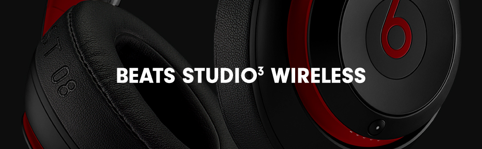 Studio3, beats by dre, wireless headphones, noise cancelling headphones