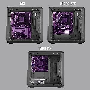 ATX microATX Mini-ITX
