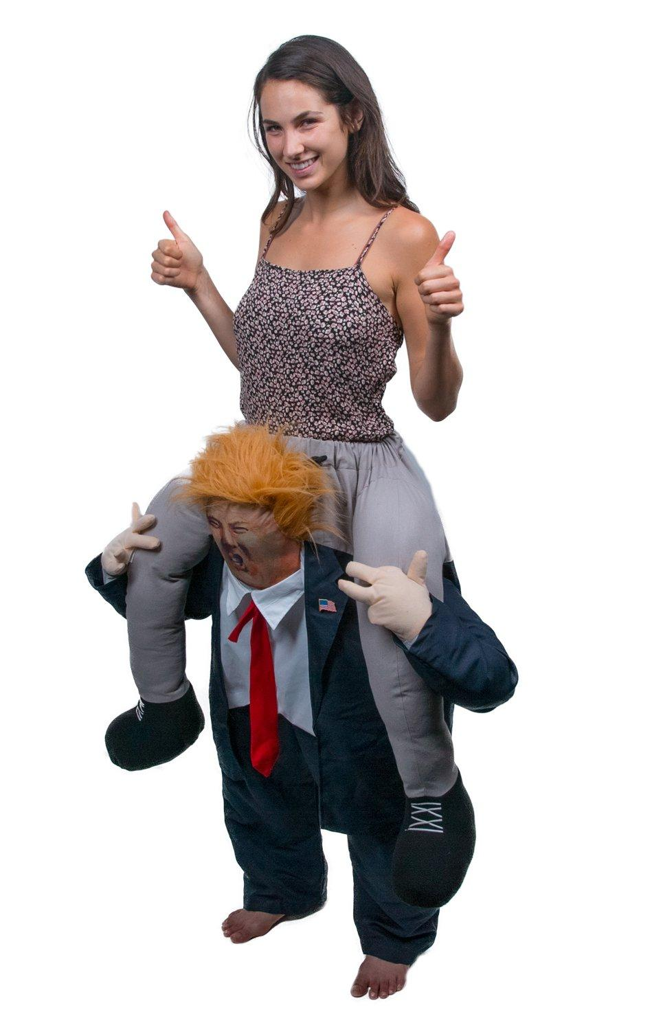 Toys For Halloween : Amazon fjerr ride on trump halloween costume toys
