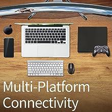 Universal Multi-Platform Connectivity (BenQ EX3203R)