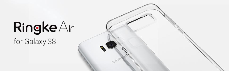 Cele mai usoare huse pentru Samsung Galaxy S8. Huse Ringke Air