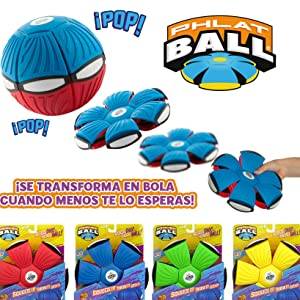 Goliath-3161240 Phlat Ball Lánzalo Y Se Convierte En Pelota, color ...