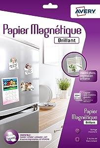 papier magnétique, papiers magnétiques, papier magnétique personnalisable, papiers magnétiques perso