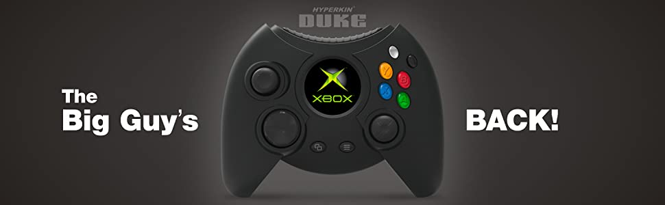 original Xbox controller Duke Official One Windows 10 PCs Hyperkin Precision Analog Triggers Bumpers