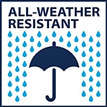 All weather resistant