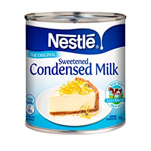 sweetened condensed milk, nestle