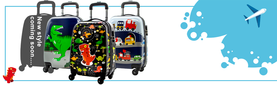 921db12b8c63 Lttxin Kids' Suitcase 16 inch Polycarbonate Carry On Luggage, Lovely, One  Size,Children Travel
