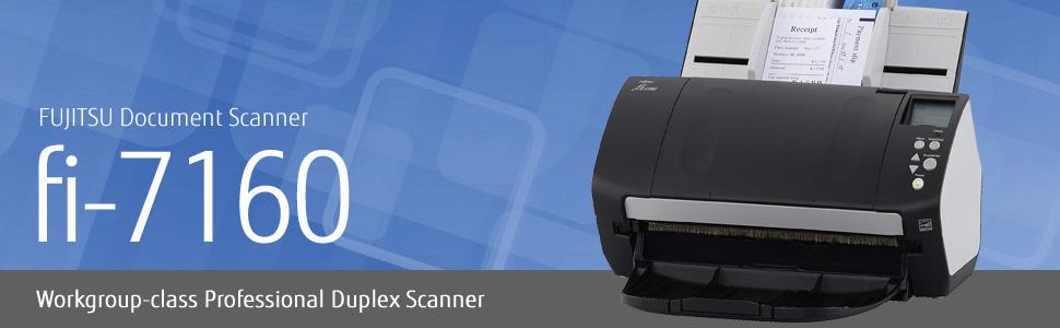 Fujitsu fi-7160 workgrou-class professional duplex document scanner