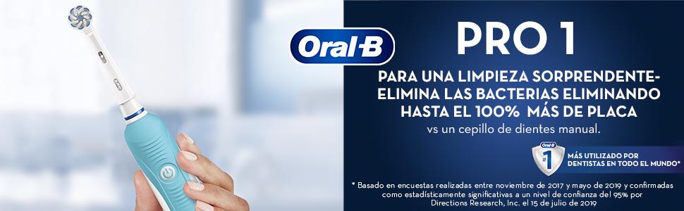 PARA UNA LIMPIEZA SORPRENDENTE CON Oral-B Pro 750 CrossAction