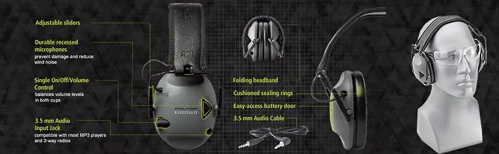 Peltor Sport Rangeguard Details