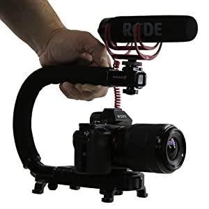 Handle, Grip, Cage, Rig, Stabilizer, Action, Handheld, Gimbal, Steadycam
