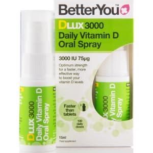 BetterYou DLux300 Vitamin D Oral Spray