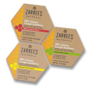 Amazon Com Zarbee S Naturals 99 Honey Cough Soothers