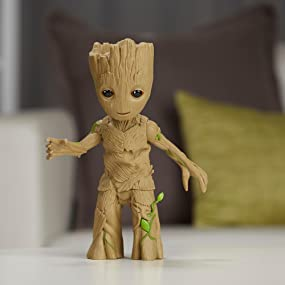 Amazon Com Marvel Guardians Of The Galaxy Dancing Groot Toys Games
