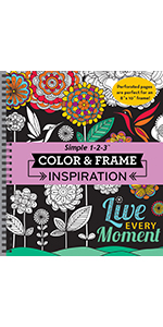 inspirational coloring book for adults grown up senior teens