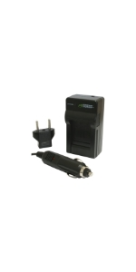 Wasabi Power Single Charger for Canon LP-E12
