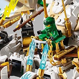 Amazoncom Lego Ninjago Legacy The Ultra Dragon 70679 Building Kit