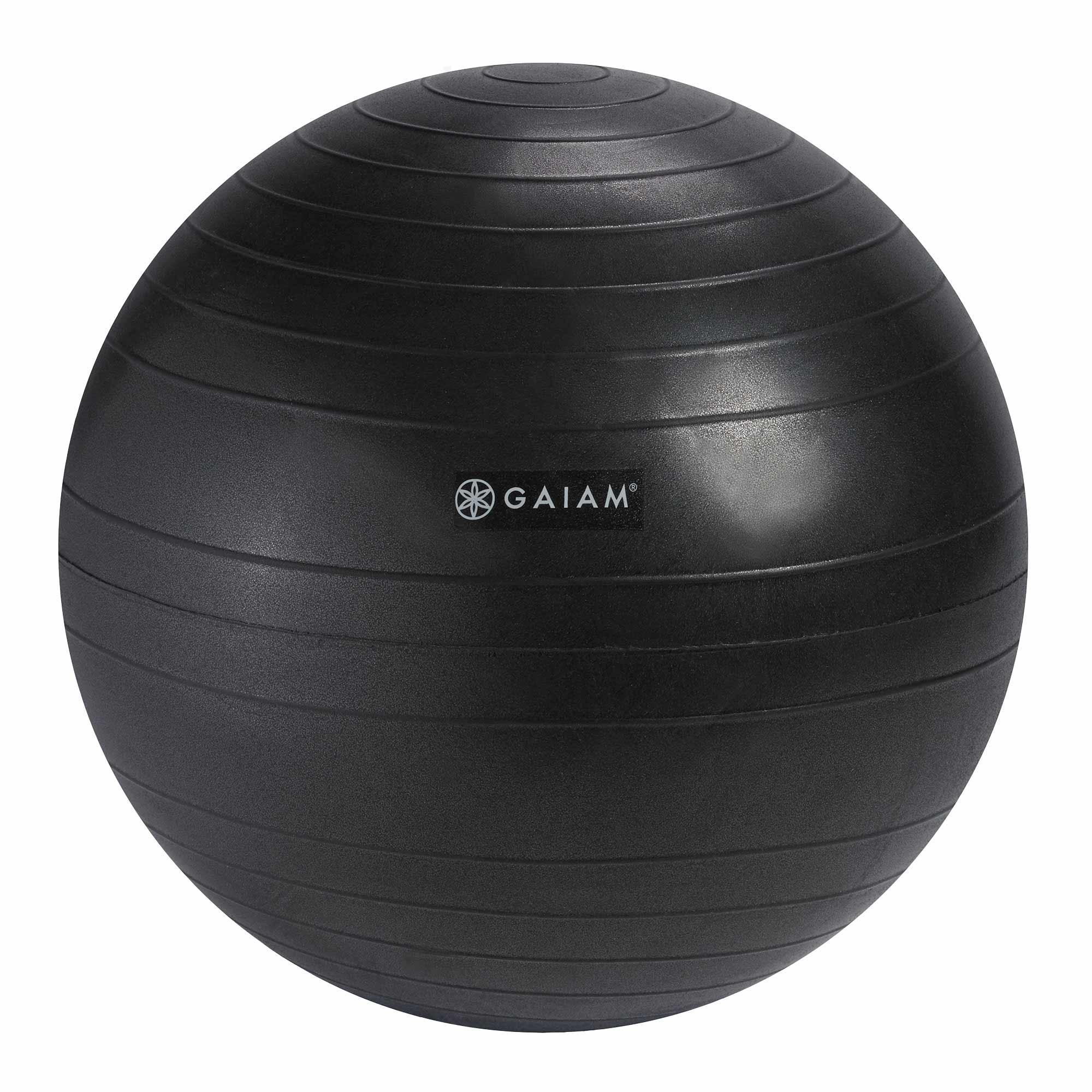 Amazon Com Gaiam Classic Balance Ball Chair Ball Extra