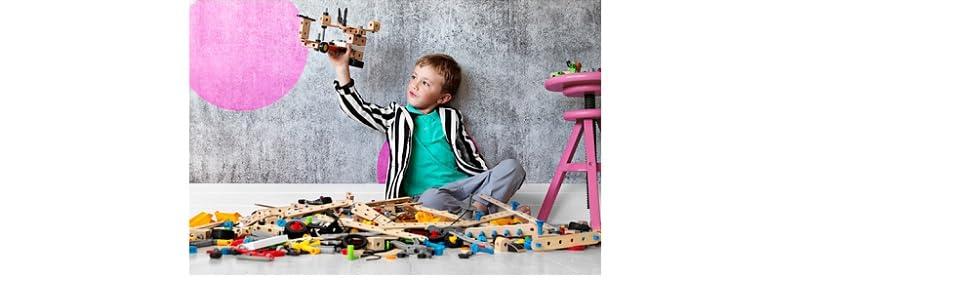 ビルダー ブリオ BRIO 組み立て 創造力 想像