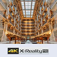 Super resolution with 4K X Reality Pro, whatever you're watching
