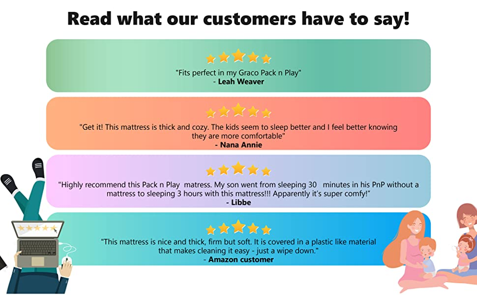 customer rating review dream on me mattress mattress for infants