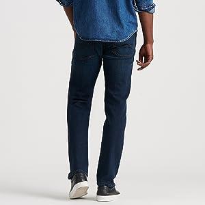 lucky brand jeans men 221 original straight, lucky brand 221 original straight, straight fit jeans