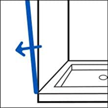 How to Measure Your Shower Space - Step 3