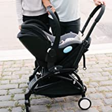 The Liing is a lightweight infant car seat that is compatible with many strollers from top brands