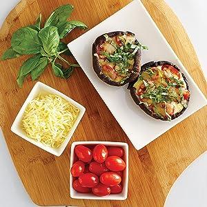 Portobello Mini Pizzas