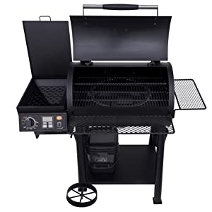 black;cast;iron;steel;porcelain;coated;non-stick;grate;grates;great;fire;box;live;temp;probe;grillin