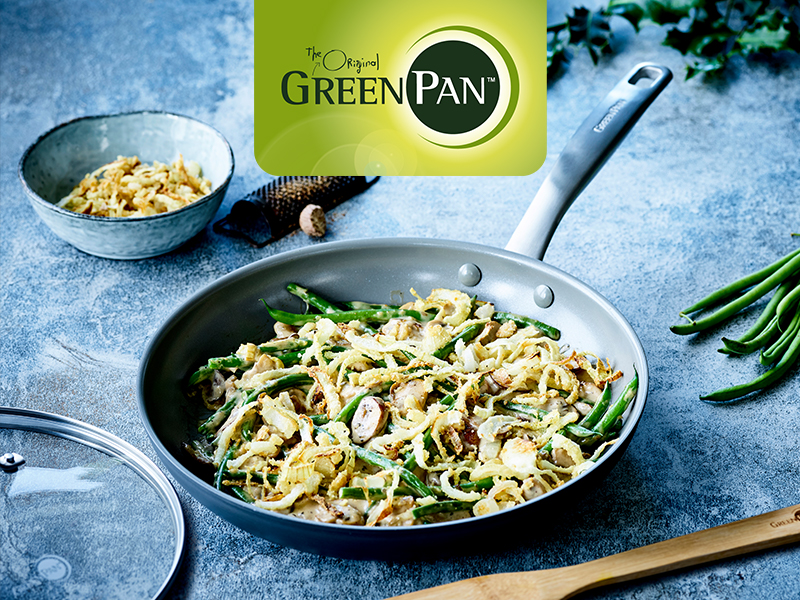 GreenPan, Healthy Ceramic Nonstick, cookware set, pots and pans pfoa free, high performance, durable