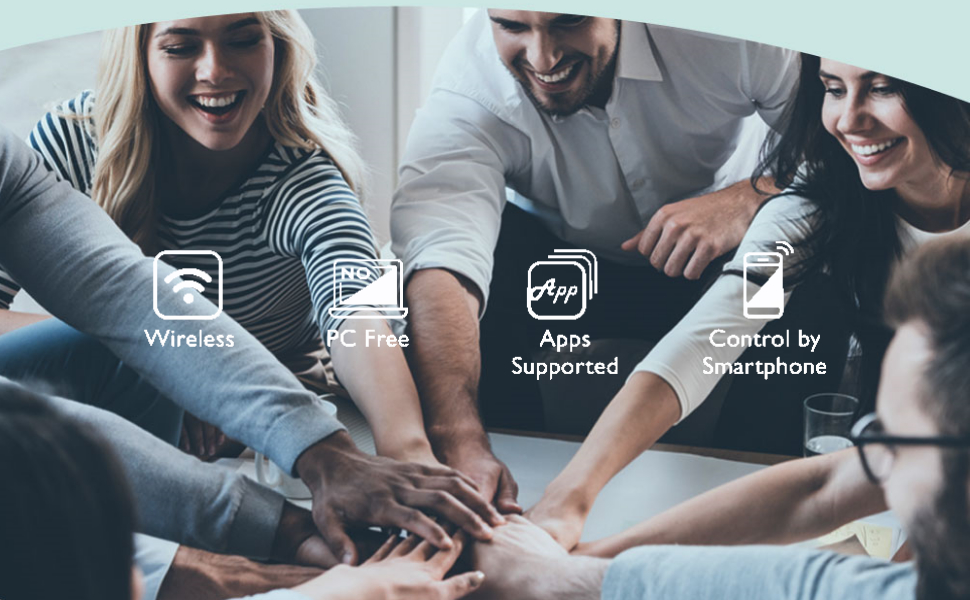 BenQ meeting room smart projector EX600 elevates your agile team to boost efficiency